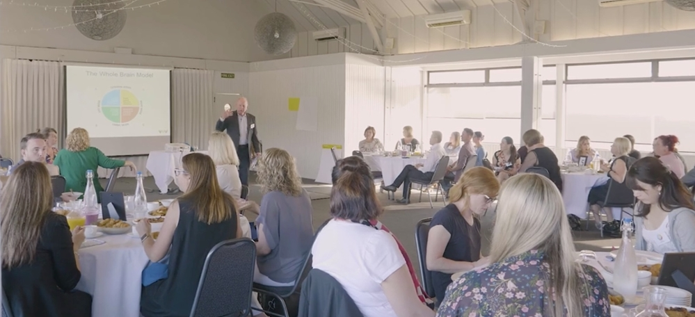 Herrmann worked with guests in Auckland to identify new approaches to wellness.